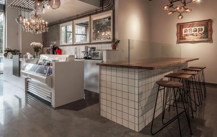 ASAP Coffee Interior Design